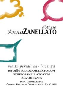 Anna Zanellato - studio - psicologo e sessuologo Vicenza - clinica - consulenza - formazione psicologia e sessuologia